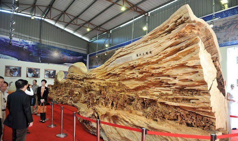 Largest Wooden Sculpture in the World