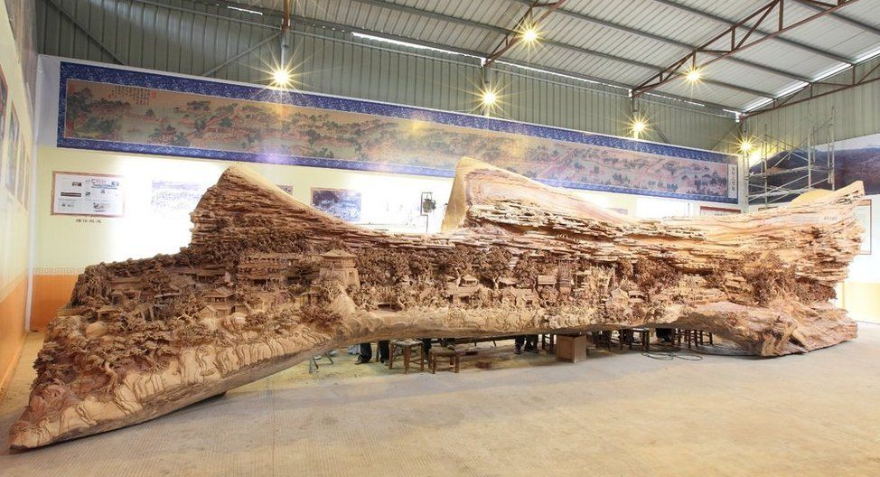 The World's Largest Wooden Sculpture
