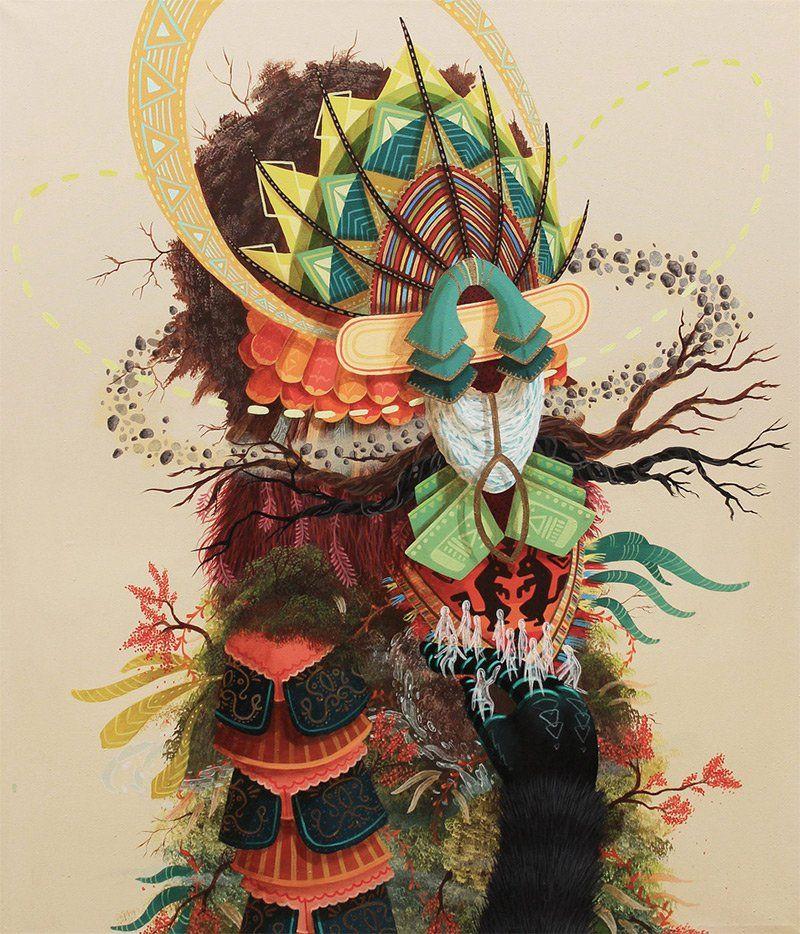 Mythical Street Art by Favio Martinez