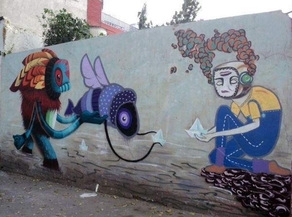 Mythical Street Art by Favio Martinez
