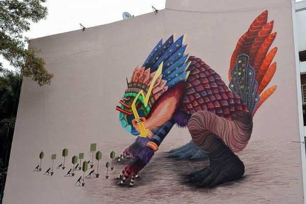 Amazingly Wonderful Mural Paintings by Curiot