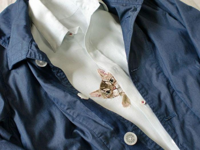 Cute Pocket Cats by Hiroko Kubota