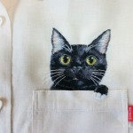 Cute Pocket Cats by Hiroko Kubota