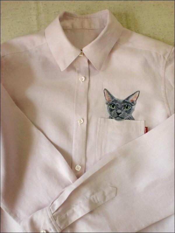 Popular Internet Cats on Shirts