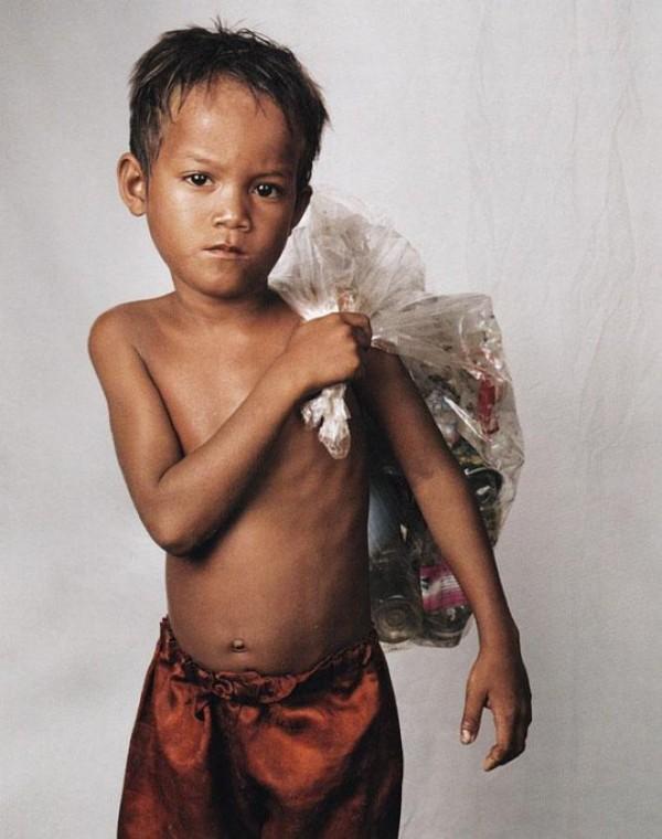 Roathy, 8, Phnom Penh, Cambodia