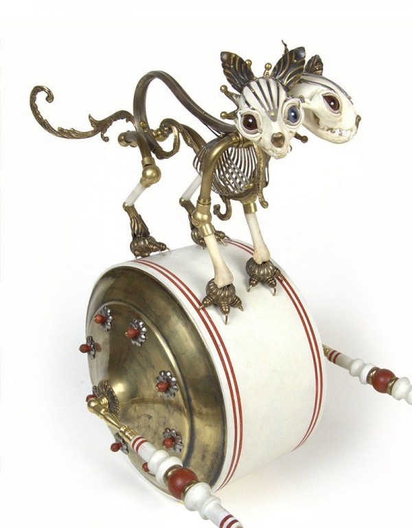 Wonderful Recycled Sculptures of Jessica Joslin