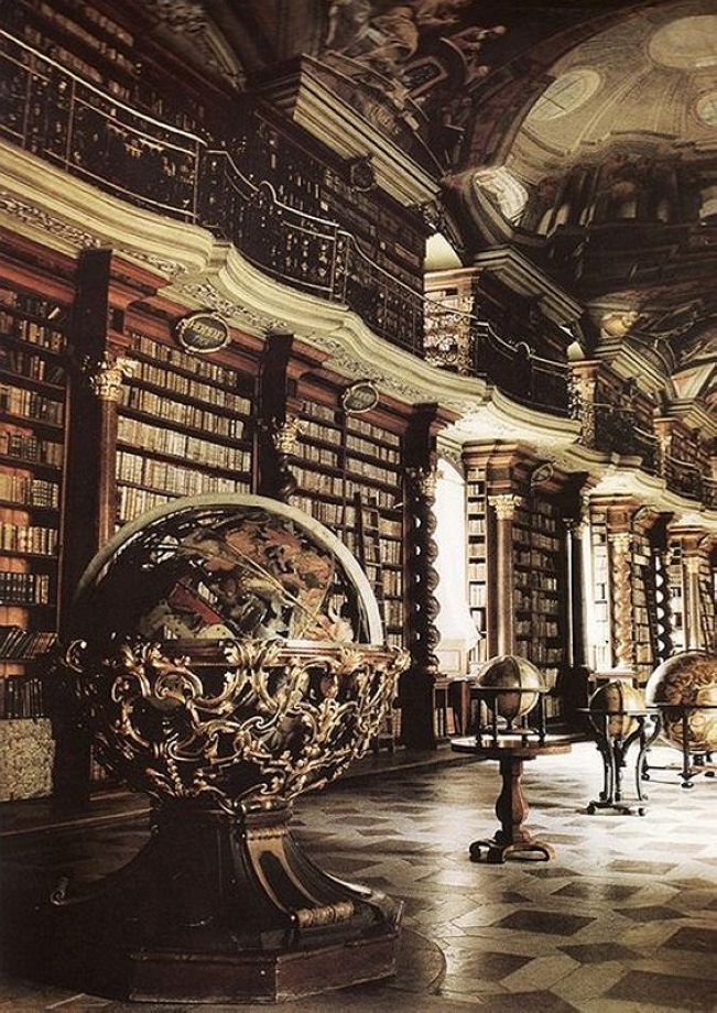 The National Library of the Bethlehem Chapel in Prague, Czech Republic 2