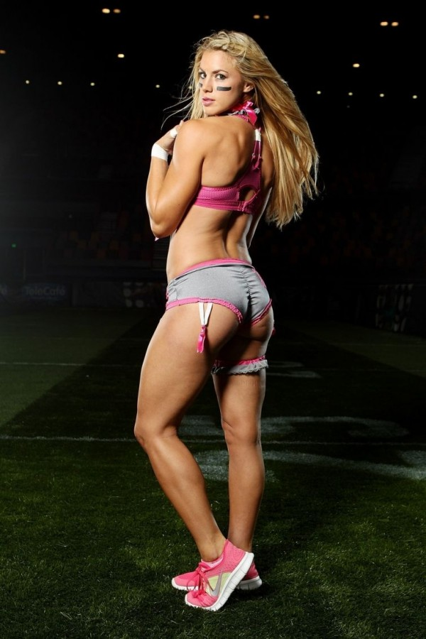 Spicy Football Players at 'Lingerie Football League'