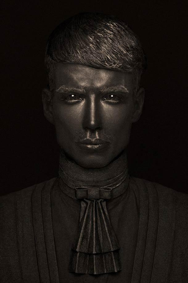 Bronze Portraits by Lionel Arnaud