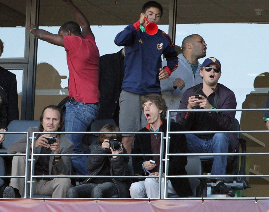 Football culture is sick of Mick Jagger and Leonardo DiCaprio