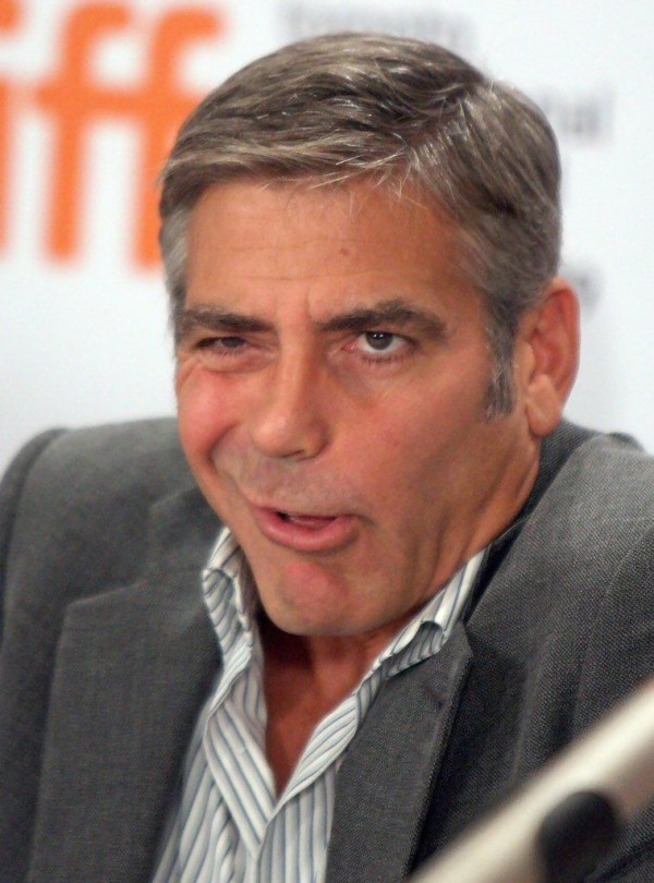 George Clooney on the premiere of the cartoon in Toronto