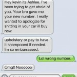 20 Hilariously Funny Wrong Number Texts Ever