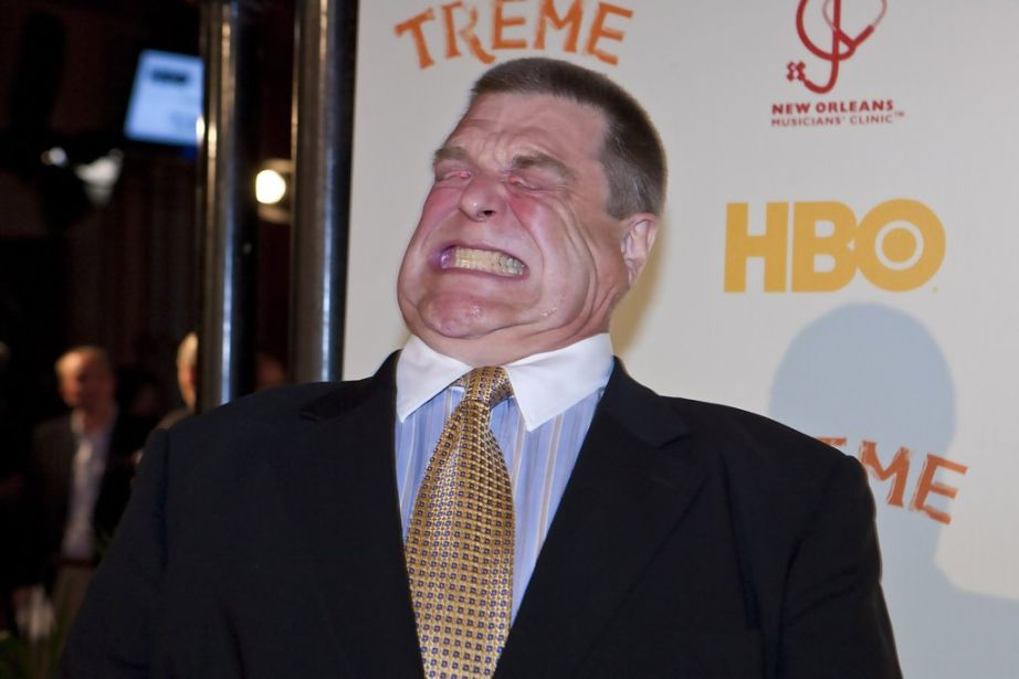 John Goodman stomps