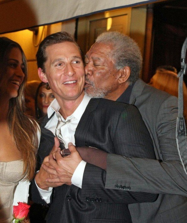 Matthew McConaughey and Morgan Freeman is clearly something not telling