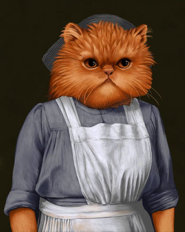 Mrs. Patmore, the cook