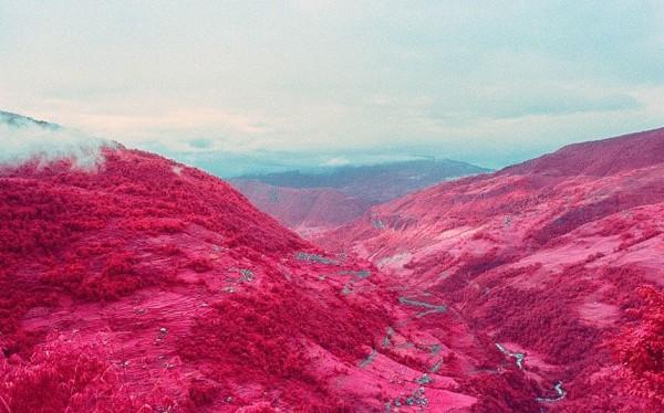 Nepal, Having originally shot infrared images through digital camera,
