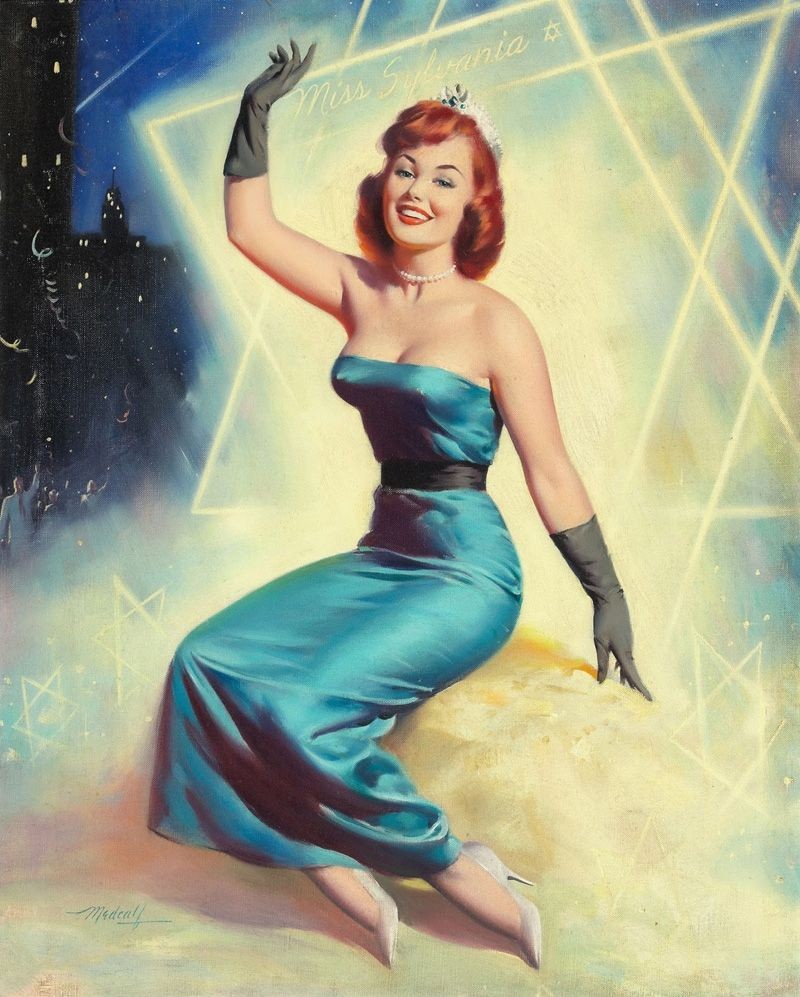 Amazing Pinup Art by Bill Medcalf