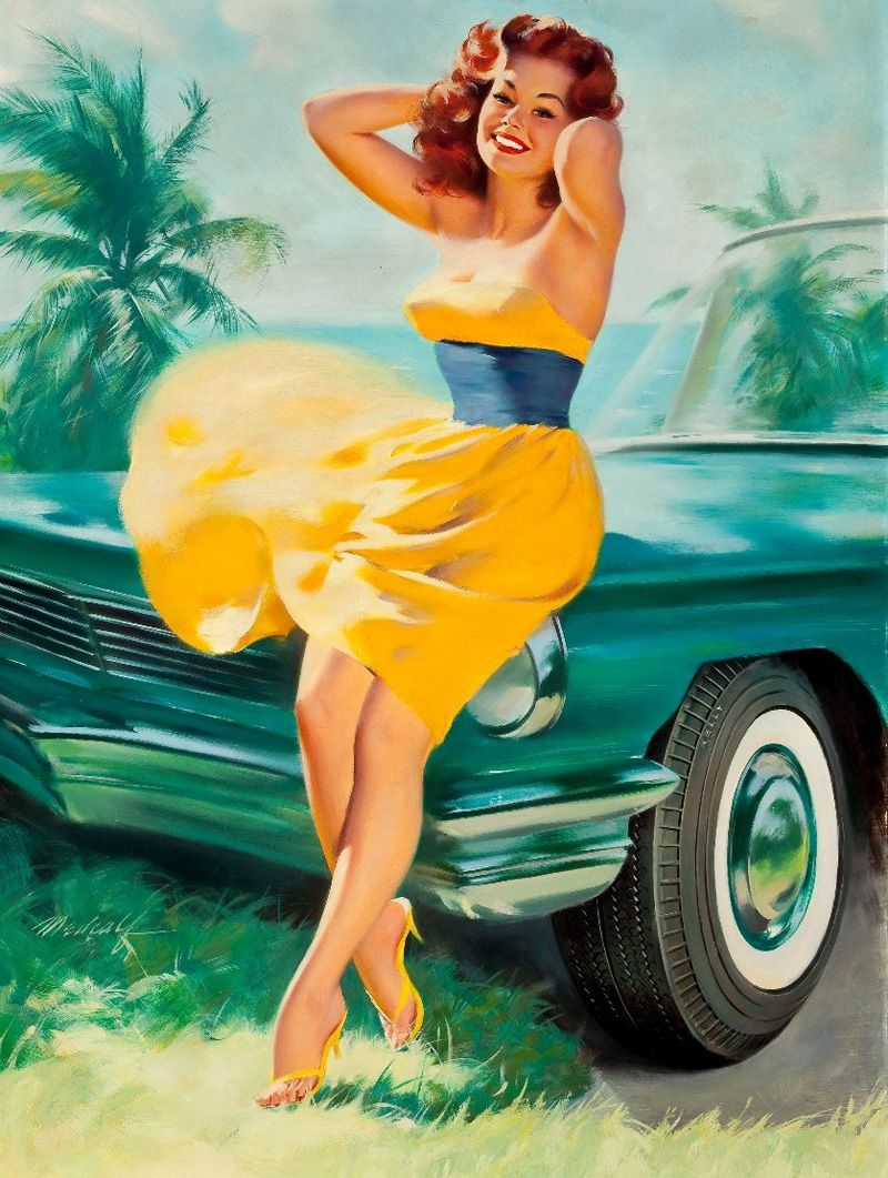 amazing pinup art by bill medcalf the wondrous