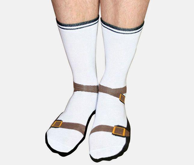 Socks, sandals