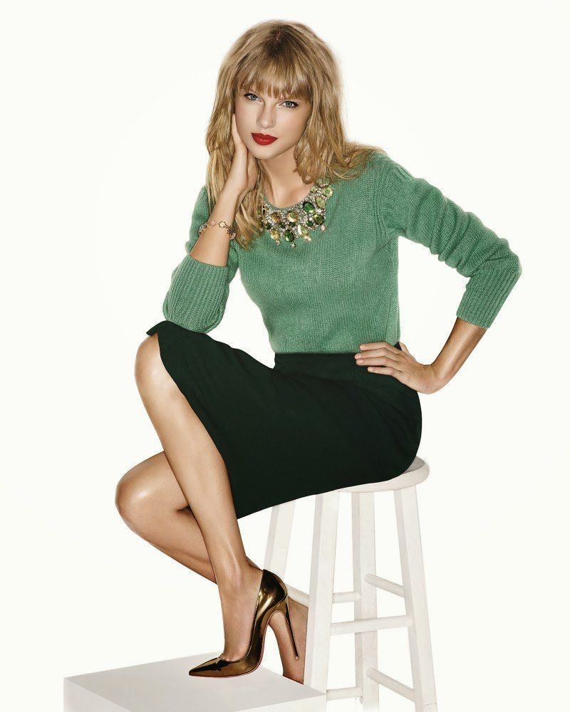 taylor swift gorgeous photoshoot for 39 instyle 39 magazine the wondrous. Black Bedroom Furniture Sets. Home Design Ideas