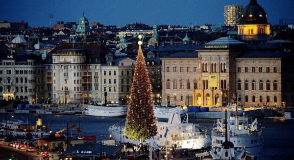 Traditional 36-meter beauty in Stockholm, Sweden
