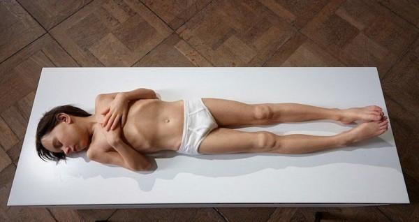 Hyper-realistic Sculptural Portraits by Sam Jinks