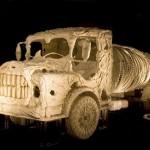 Truly Amazing Bone Vehicles by Jitish Kallat