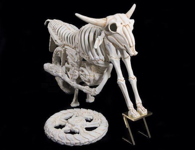 Truly Amazing Bone Vehicles of Jitish Kallat