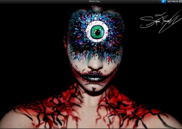 Creepy Makeup (11)