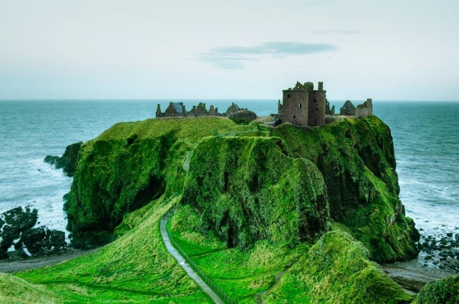 Dunnottar Castle The Most Impregnable Fortress Of Scotland The Wondrous