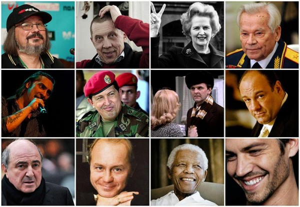 Famous people who left us in 2013
