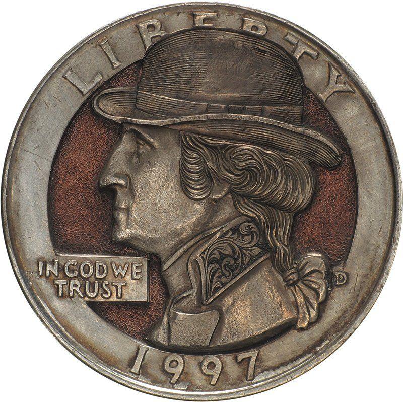 Handmade Clad Coins by Paolo Curcio