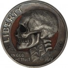 Inspirational Hobo Nickels Carved from Clad Coins
