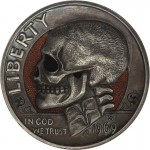 Wonderful Hobo Nickels Carved Out of Clad Coins