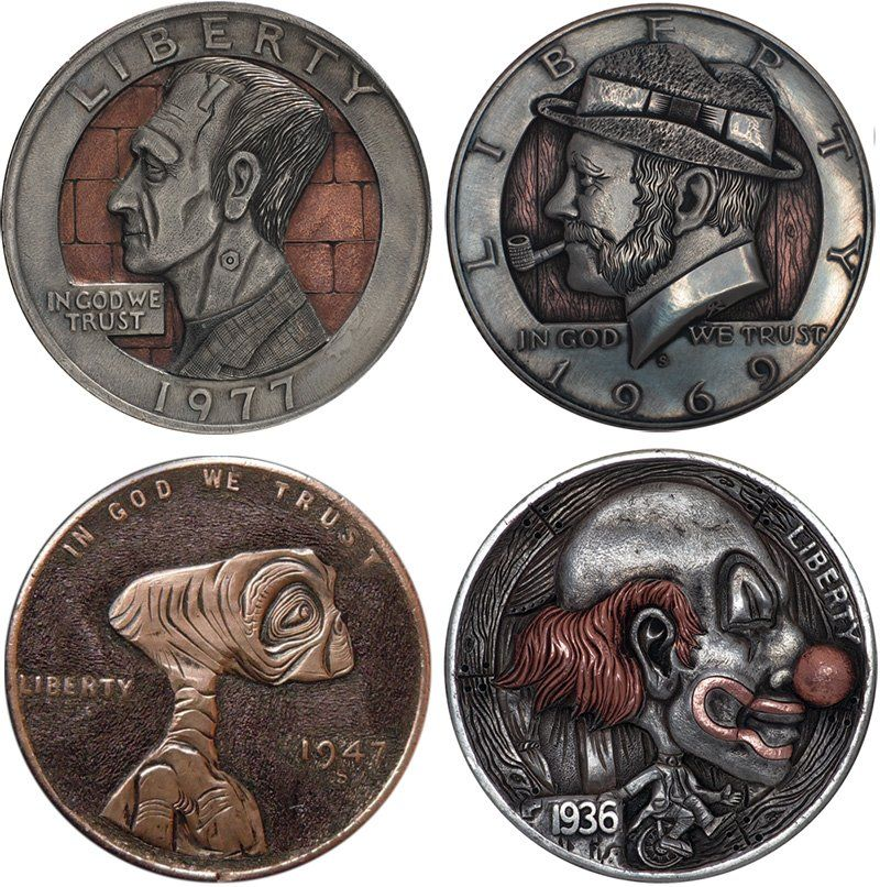Handmade Clad Coins