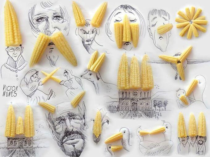 Imaginative Faces by Victor Nunes