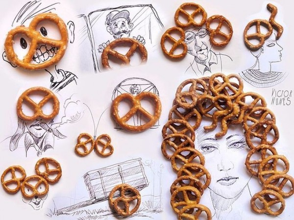 Wonderful Drawings with Ordinary Objects