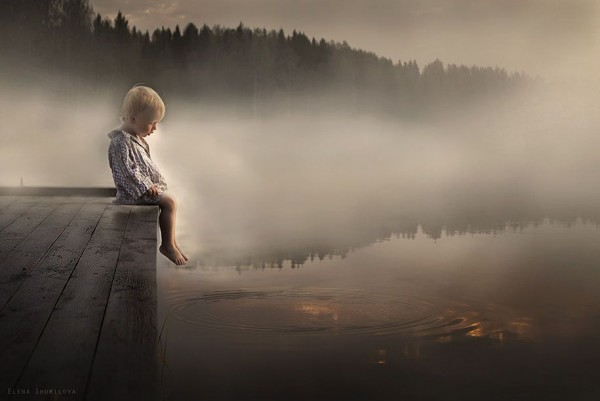 Kids and Animals in the Photographs of Elena Shumilova