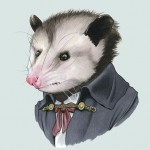 Fantastic Animal Portrait Illustrations of Ryan Berkley