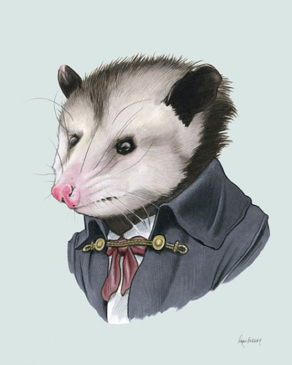 Fantastic Animal Portrait Illustrations of Ryan Berkley