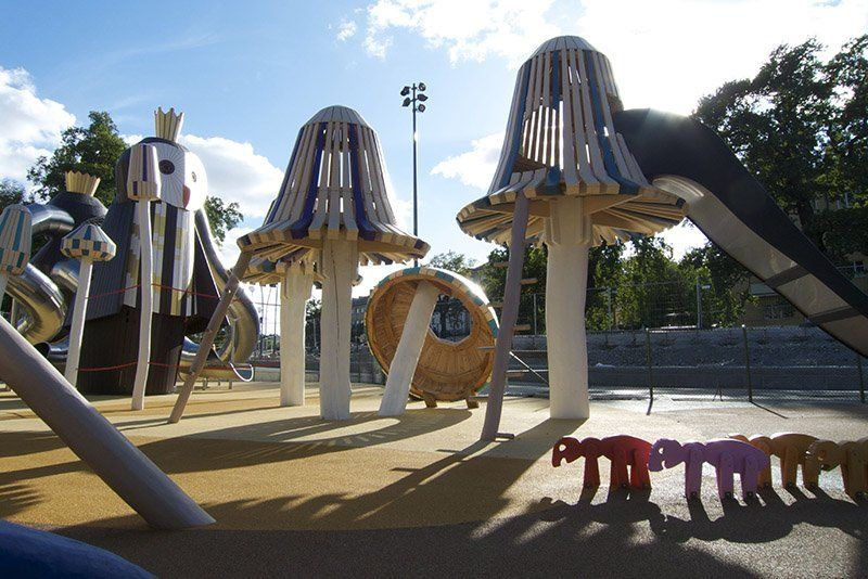 Funny and Imaginative Playground Designs by Monstrum - The ...