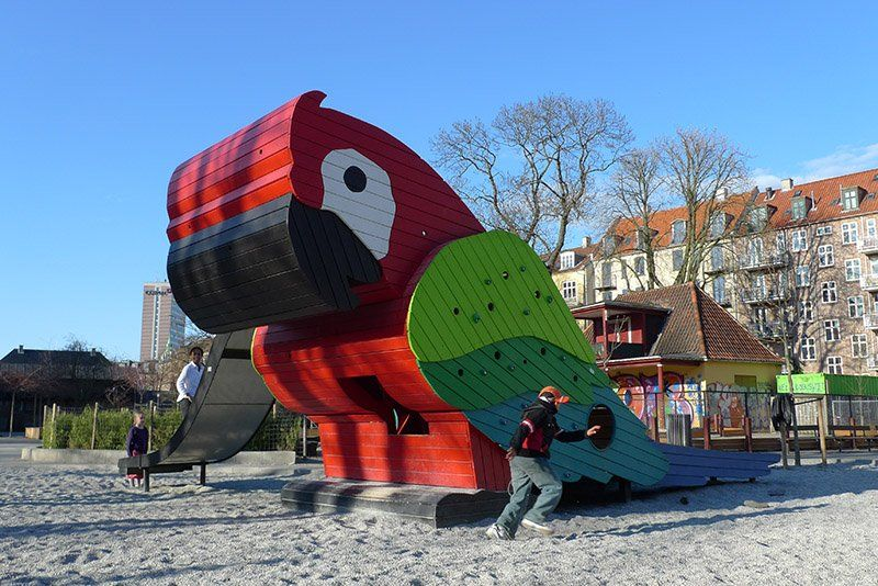 Funny and Imaginative Playground Designs by Monstrum | The ...