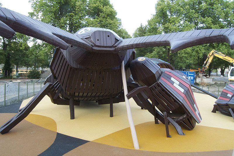 Imaginative Playground Designs by Monstrum