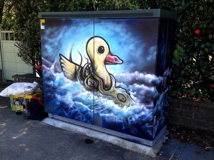 Street Art by Paul Walsh