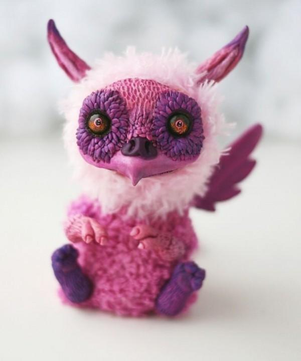 Creepy Stuffed Creatures by Anna