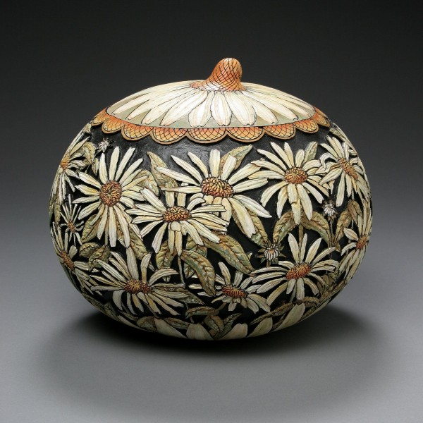 The Delicate Gourd Carving Art By Marilyn Sunderland The