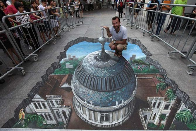 Amazing 3D Street Art by 3D Joe and Max'