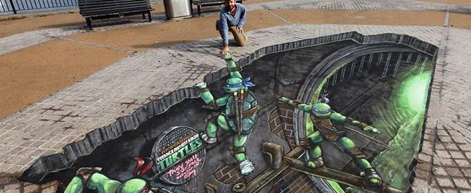 Artist '3D Joe and Max' Creates Breathtaking 3D Street Art