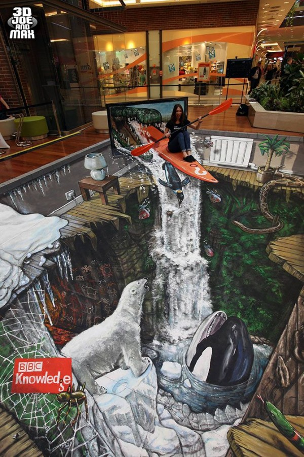 Artist '3D Joe and Max' Creates Breathtaking 3D Street Art