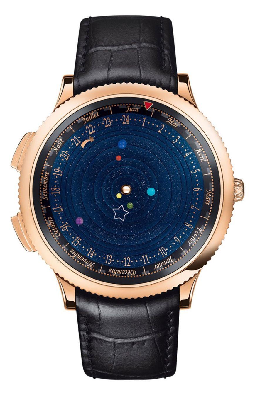Astronomical Watch Midnight Planetarium